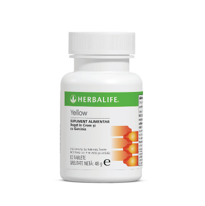 Herbalife Thermojetics Yellow