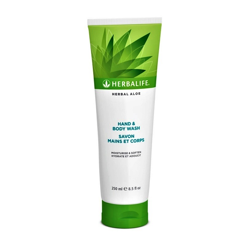 Herbal Aloe Gel de curatare pentru maini si corp